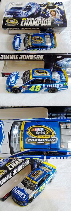 Sport and Touring Cars 180272: Jimmie Johnson Hand Signed 2016 Lowe S 7X Nascar Champion Nascar 1 24 Car!!!!!!! -> BUY IT NOW ONLY: $149.99 on eBay!