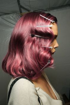 #hair #hairstyle #pinkhair #fashion #fashionista #fashionblogger #style #lifestyle #cool #chic #pink #trendy #trend #it #itgirl #backstage