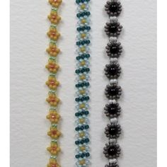 Tuesday 29th September 2015, Daisy Chain ; Beadweaving for Absolute Beginners Workshop, 11.00-1.00pm