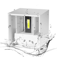 Loskii DX-CT1 AC 220V Waterproof 7W Aluminum Cube COB LED Wall Lamp Light Modern Home Lighting Indoor Outdoor Decoration Light