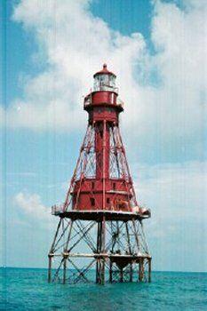 Florida Lighthouse Association, Inc. - Florida's lighthouses. American Shoal Lighthouse