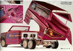 Lowrider Model Cars, Lowrider Trucks, Tandem, Lowrider Hydraulics, Hydraulic Cars, S10 Blazer, Lowered Trucks, Bicycle Bag, Mini Trucks