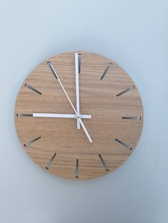 Wall clock home decor by BlissArtStore on Etsy https://www.etsy.com/listing/548002396/wall-clock-home-decor