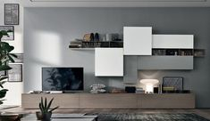 61 Ideas For Living Room Tv Wall Design Television Living Room Wall Units, Ikea Living Room, Living Room Designs, Living Room Furniture, Tv Wall Units, Tv Furniture, Leather Furniture, Furniture Online, Tv Unit