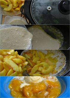 This is a recipe for the easiest slow cooker peach cobbler ever. Yes, you can make peach cobbler in the slow cooker!