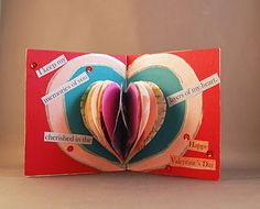Gorgeous Heart Books for Valentine's crafts. Show how much you love someone!