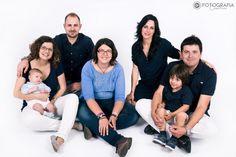 Sesión de estudio en familia