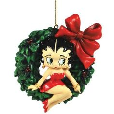 Betty the Boop Christmas Ornament