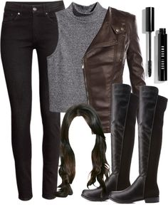 "Recreating Spencer Hastings' outfit from 5x01 ""EscApe From New York"" por liarsstyle usando black skinny jeans"