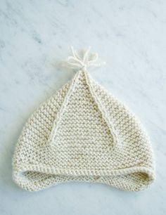 Garter Ear Flap Hat   Purl Soho - Create