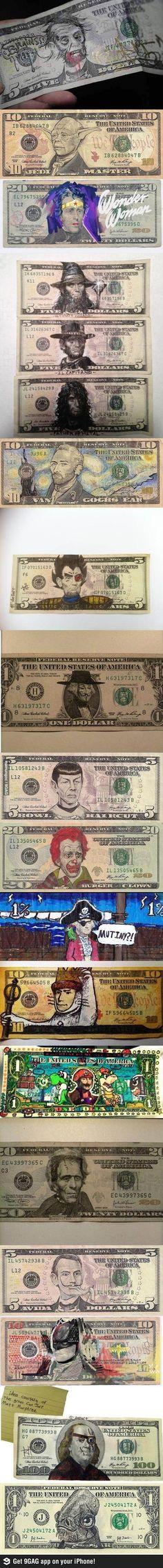 redesigned money
