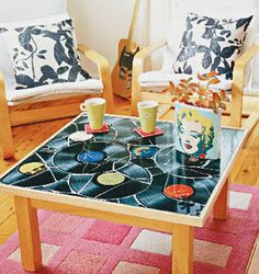 make vinyl table top - Buscar con Google