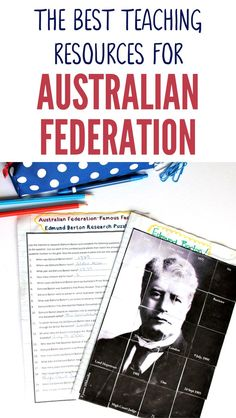 This fantastic range of Australian Federation teaching resources are aligned with the Australian Curriculum and are the perfect tool to help you teach this tricky topic. These Australian Federation teaching resources are fun, interactive and hands-on beca Year 6 Classroom, Primary Classroom, Classroom Activities, Primary School, Teaching History, Teaching Resources, Teaching Ideas, Federation Of Australia, Research Skills