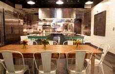 Haven´s kitchen, café/ shop/ cooking school/ event space, West 17th St NYC