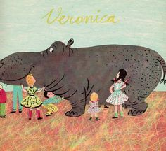 my vintage book collection (in blog form).: Veronica - illustrated by Roger Duvoisin