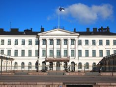 Presidential Palace in Helsinki, Finland