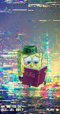 ideas wallpaper iphone cartoon spongebob for 2020 Iphone Cartoon, Cartoon Wallpaper Iphone, Trippy Wallpaper, Sad Wallpaper, Iphone Background Wallpaper, Cute Cartoon Wallpapers, Aesthetic Iphone Wallpaper, Disney Wallpaper, Aesthetic Wallpapers