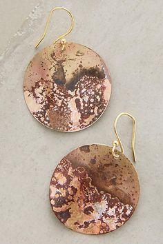 **- Oxidized Brass - **Rasenna Earrings - anthropologie.com