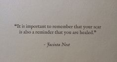 I really needed to read this! Thank you to whoever posted it~