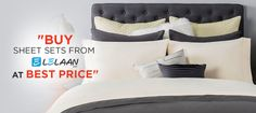 Decorate your bedroom with percale sheet sets in fabulous colors, creating a fashionable cosmos of theme colors inside the room. Enjoy the New Year Sale buying Percale sheet sets from Lelaan. Best Percale Sheets, Best Sheet Sets, New Years Sales, California King, Bedding Sets, Bed Pillows, Pillow Cases, Blanket