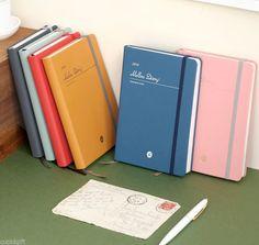 2016 Iconic Mellow Diary Planner Scheduler Journal Agenda Notebook Organizer #AuthenticKoreanCuteKawaiiStationery