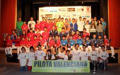 Las escuelas de pelota recogen los trofeos de los Juegos Deportivos de la CV.  Entrega JECV Alfara del Patriarca