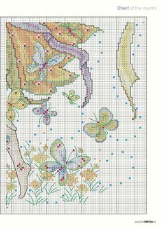 Butterfly Fairy - 4/6 PUNTADITAS (pág. 23) | Aprender manualidades es facilisimo.com