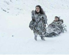 Meera and Bran, season 7