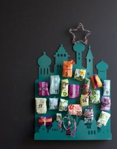 Advent calendar DIY CRAFTS CHRISTMAS