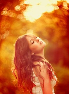 Evgenia Galan | Warm Summer Glow | This is so pretty!