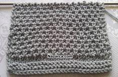 DEĞİŞKEN TEK RENKLİ ŞİŞ MOTİFİ | Nazarca.com Crochet Hats, Beanie, Beanies, Beret