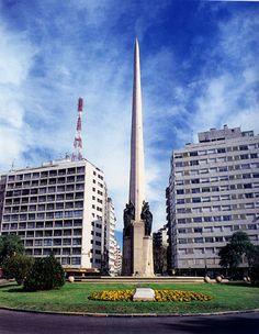 Obelisco _ Montevideo, Uruguay.