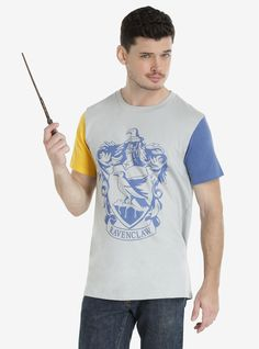 Show off your house colors | Ravenclaw Colorblock Tee