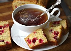 Cranberry Orange Cornbread; Panera TIP: If you don't have fresh cranberries, use blueberries or raspberries instead.