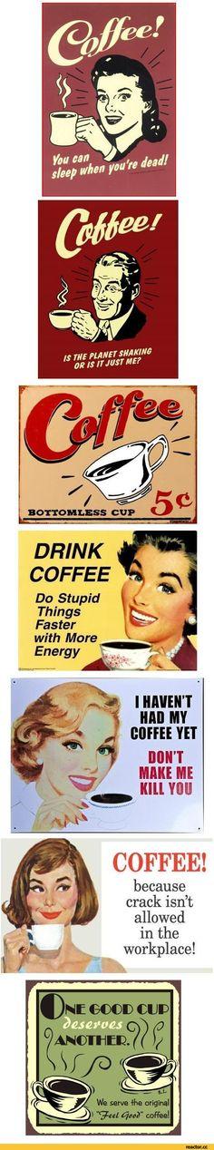 coffee,posters,retro