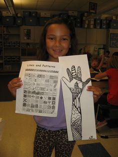 Just did this one and it worked really well. Love the added support/reference page for students to work with. Could make into a Henna Lesson Classroom Art Projects, School Art Projects, Art Classroom, Line Art Projects, Art Sub Plans, Art Lesson Plans, Middle School Art, Art School, Jamestown Elementary