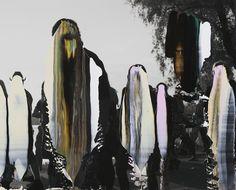 """Nanna Hanninen, """"People IV"""" (2012) digital C-print on diasec, mounted on MDF with Oak frame."""