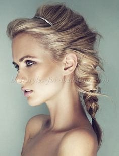braided wedding hairstyles, bridal hairstyles with plaits - braided wedding hairstyle