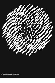 John Simpson + Alex Simpson - SEA || Blanka invited 28 designers to contribute a poster to the Mono Exhibition