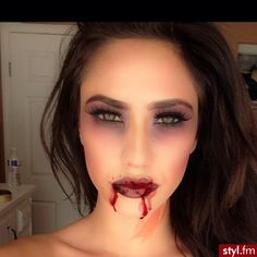 #halloween #make up #costume