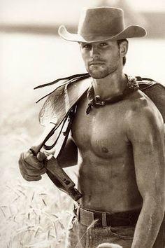 It takes a R E A L man to be a cowboy!!! DB