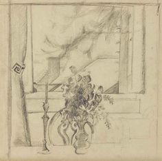 Balthus (1908-2001) Nature Morte, 1958, Graphite on paper