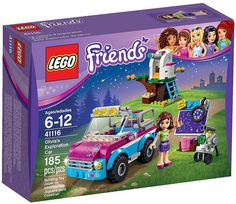 LEGO Friends 41116 - Olivia's Exploration Car #lego #legofriends #legofriends2016