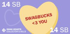 I won the limited edition 14 SB Bill at Swagbucks #swagbucks