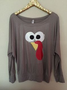 Turkey Long Sleeve Shirt - Thanksgiving Shirt - Holiday Shirt - Ruffle – Ruffles with Love