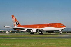 Australian Airlines 767-300. Image via google Australian Airlines, Aviation, Aircraft, Google, Image, Planes, Airplane, Airplanes, Plane