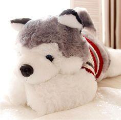 "Siberian Husky 15"" Plush Toy"