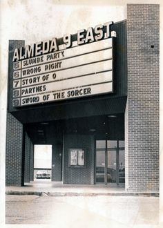 The X Rated slate at Almeda 9 East