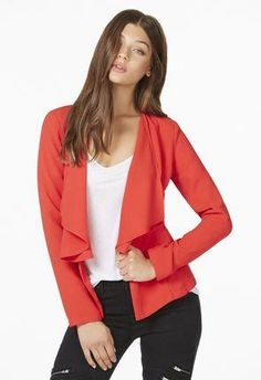 A classic fave you just can't get enough of, this blazer will elevate your work outfit in a cinch. | JustFab