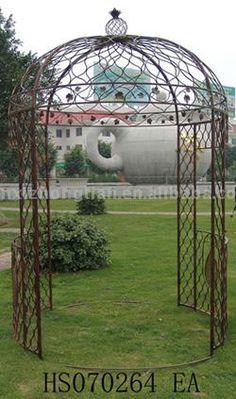 #outdoor garden gazebo, #garden landscape gazebo, #antique metal gazebo